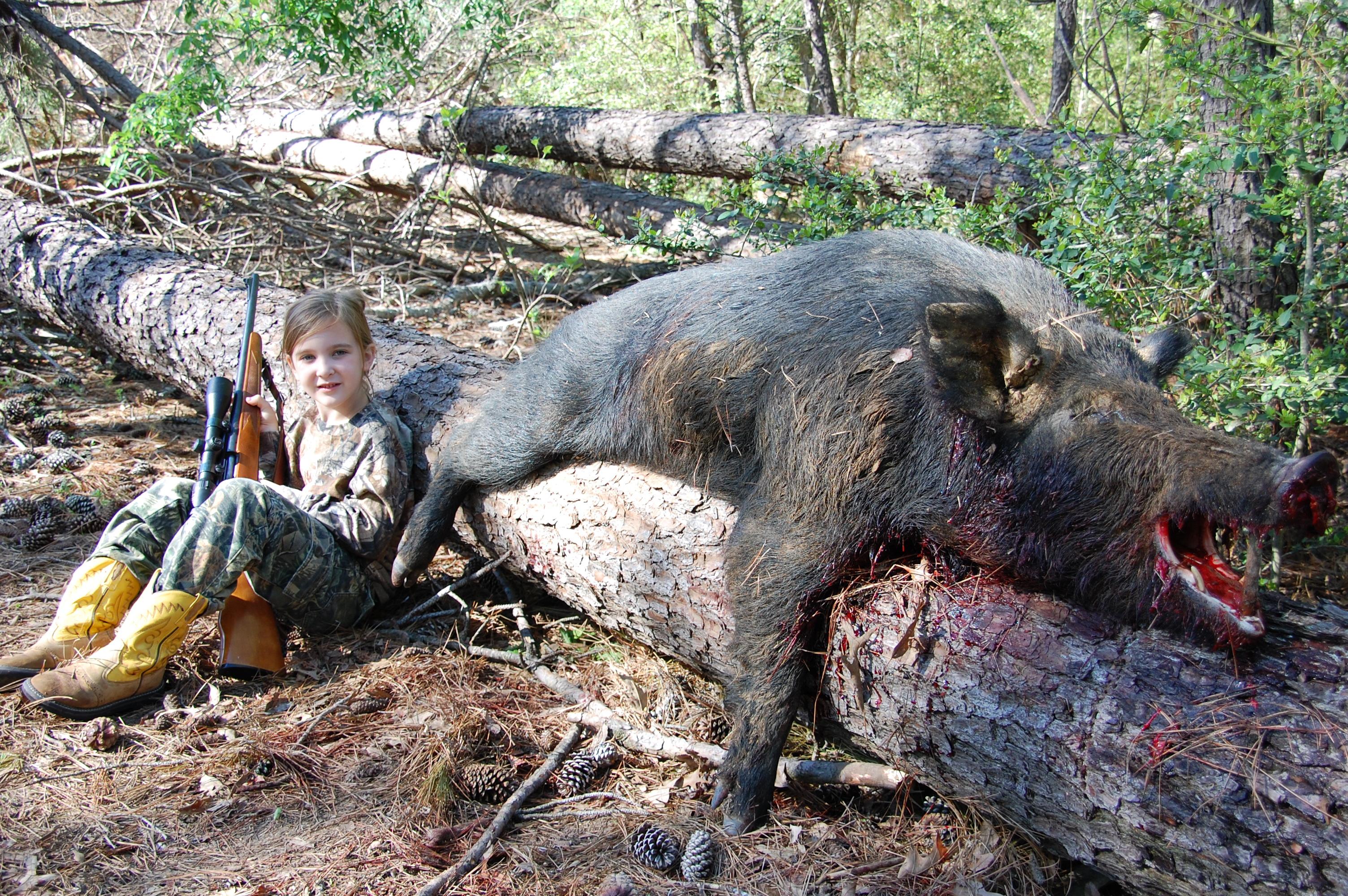 Hog hunting in dallas texas